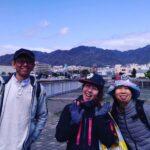春の都賀川下り立禅ハイキング
